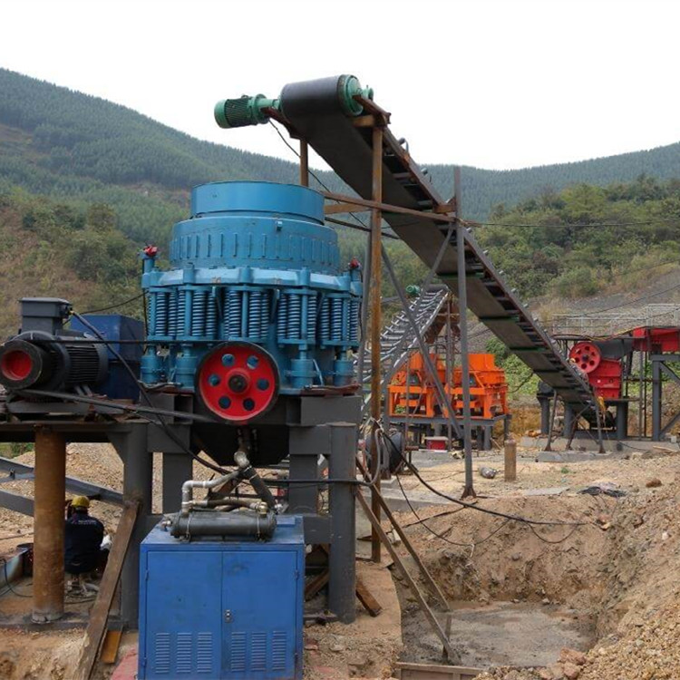 150th stone and sand making plant in Cuba