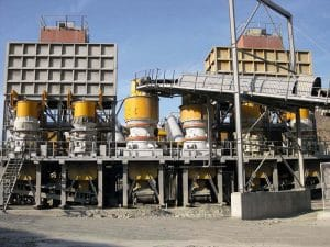 HP cone crushers in 1000TPH