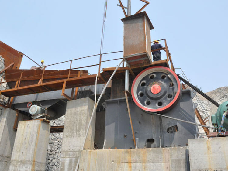 Jaw Crusher plant in India