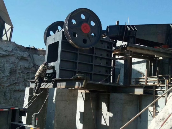 jaw rock crusher machine