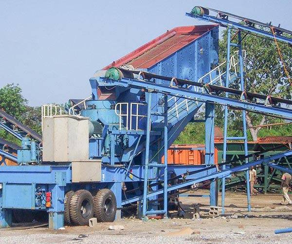 100t/h crusher plant in South Africa