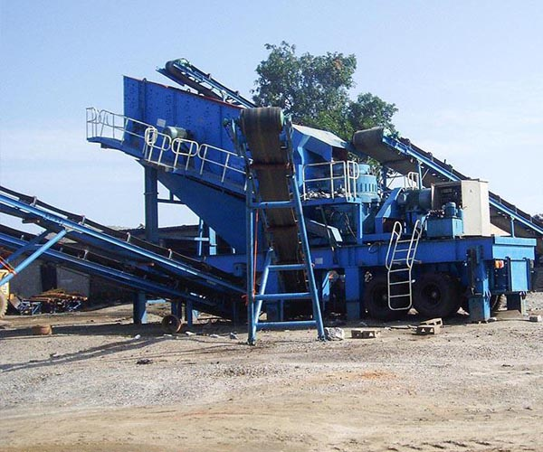 120tph mobile crusher line in Australia