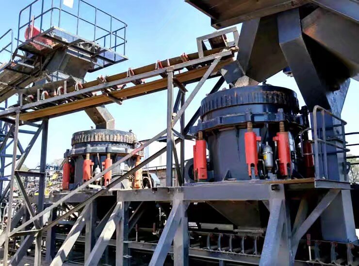 multi cylinder hydraulic cone crusher 150th plant
