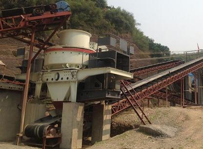 sand maker machine