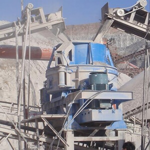 Variable Effects Production of Sand Making Machine