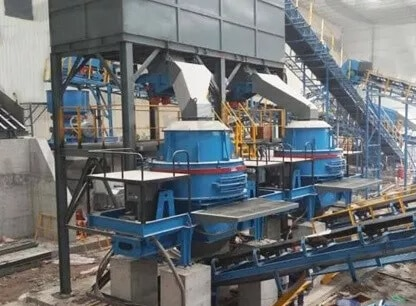 sand making machine plant