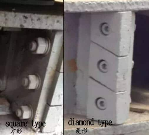 impact block of vertical impact crusher