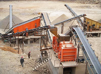 Mexico 120TPH Pebble Crusher Plant