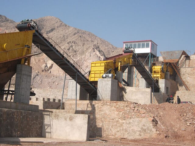 china jxsc impact crusher plant