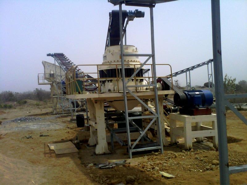 trituradora de cono compuesto de mina jxsc