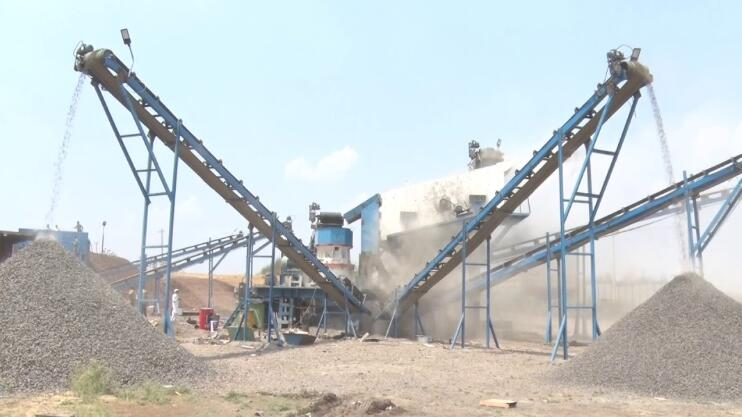 crushing plant install and maintain