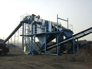 double deck vibrating screen