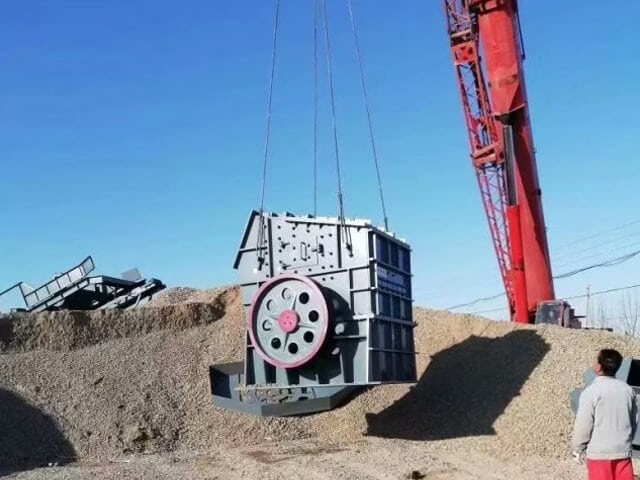 molino de martillos de doble rotor