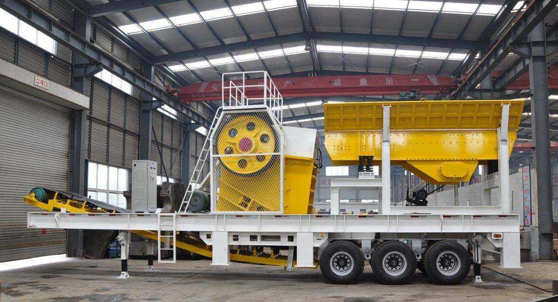 jxsc mobile jaw crusher