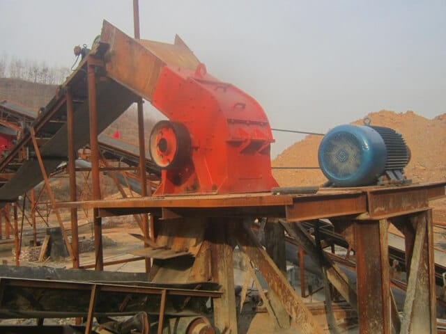 small hammer crusher plant