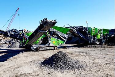 JXSC Iron ore crusher plant