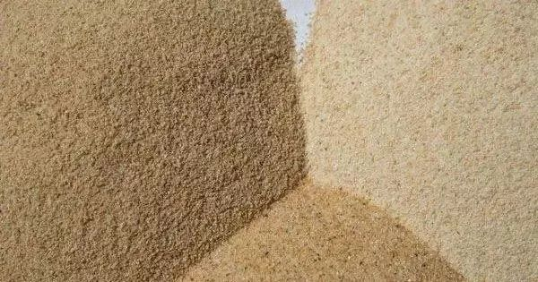 artificial sand and natural sand