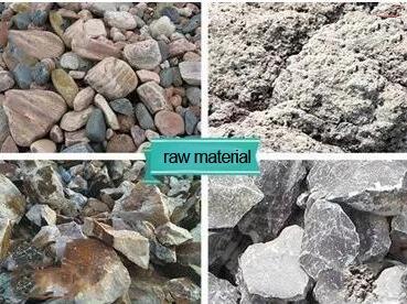 granite sand making material