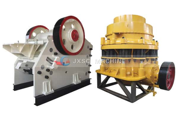 jaw crusher vs cone crusher