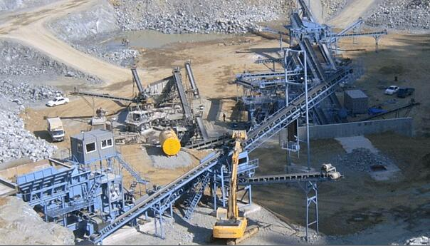 kaolinite crusher plant