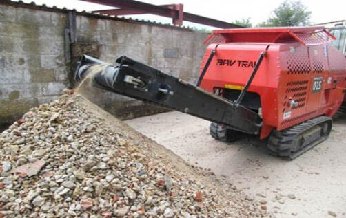 recycling concrete crusher plant