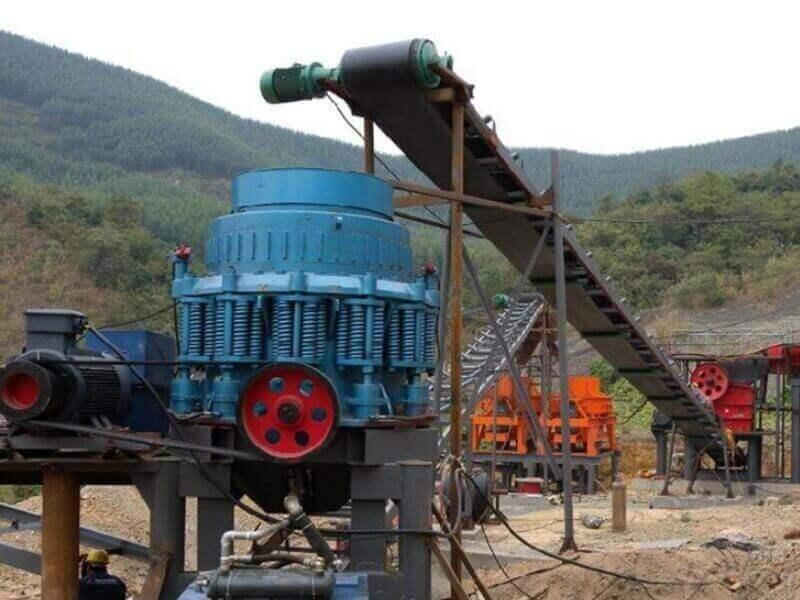 usine de concasseur à cône composé