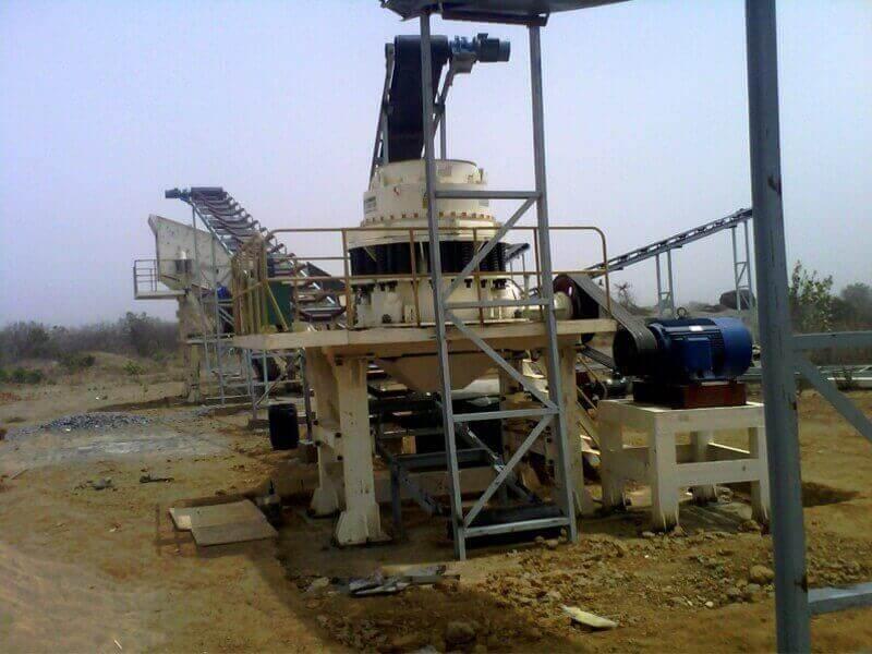 Concasseur à cône composé de mines jxsc
