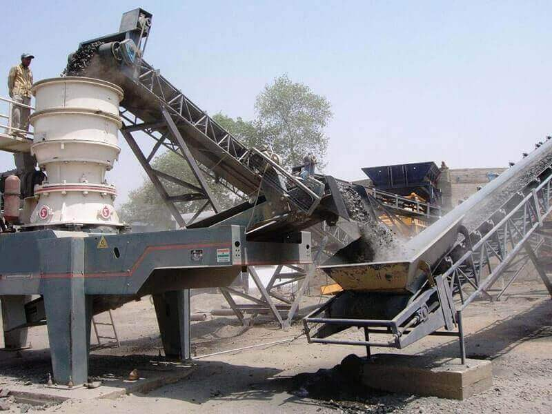 switzerland single cylinder hydraulic cone crusher plant