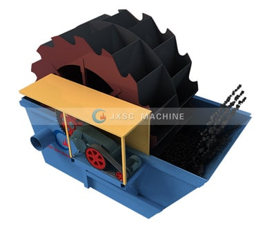 wheel sand washer equipment