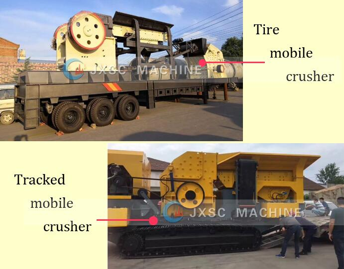 mobile crusher plant types