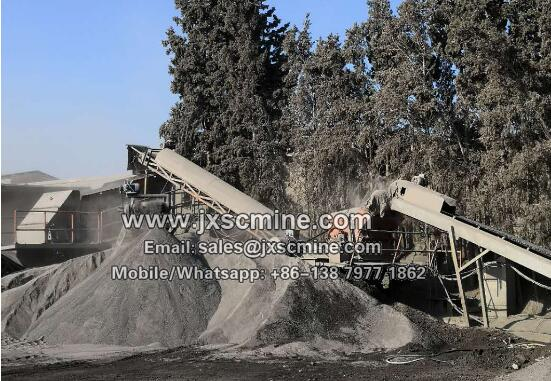 Morocco 60tph limestone crusher plant
