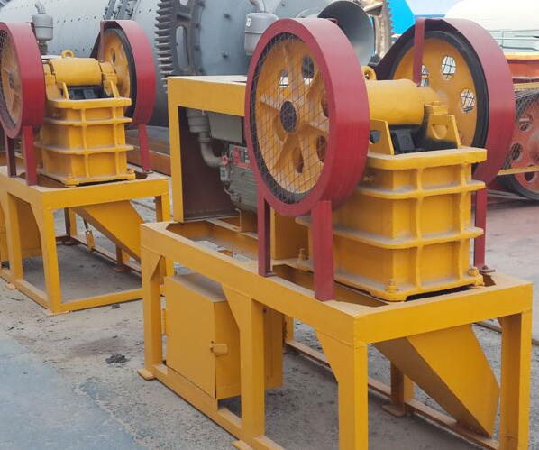 diesel engine stone crushers