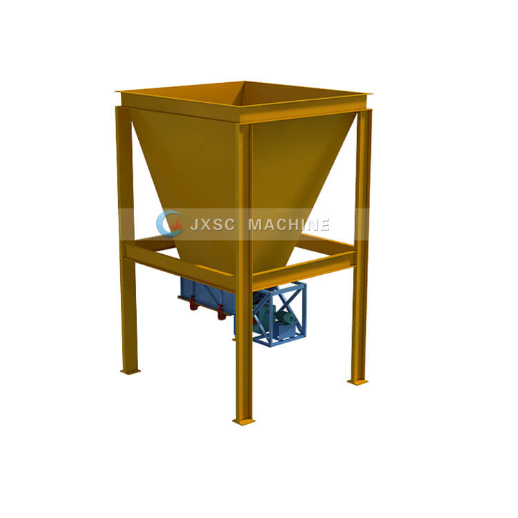 hopper chute feeder