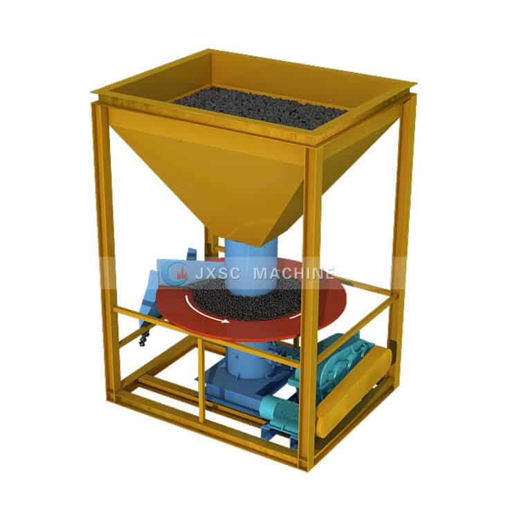 hopper disk feeder