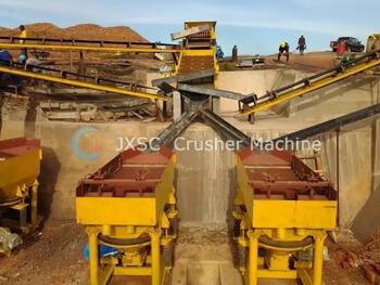 Uganda 100tph tantalum ores processing plant