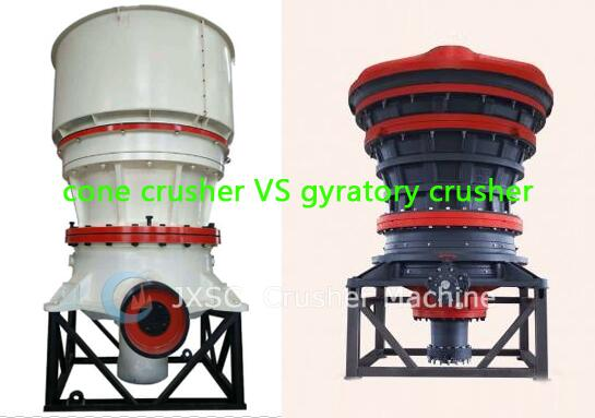 differece between cone crushers and gyratory crushers