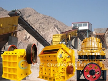 jxsc rock jaw crushing plant