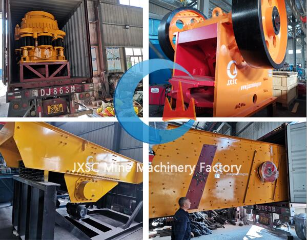 jxsc stone crusher plant equipment