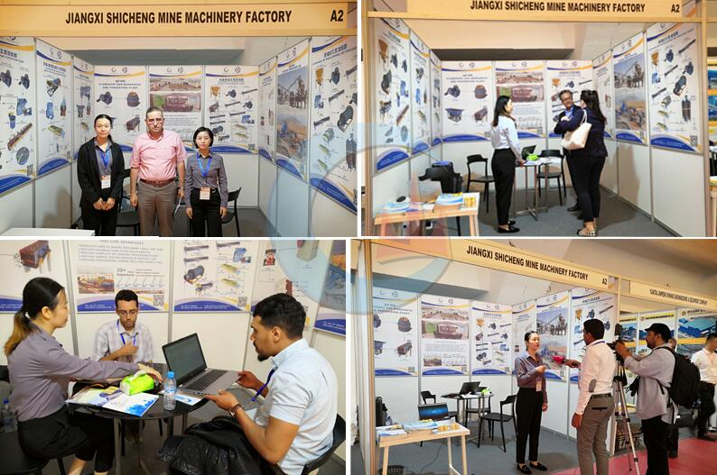 Morocco exhibition on mining and quarrying