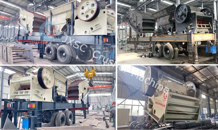 30tph mobile aggregate plant equipment